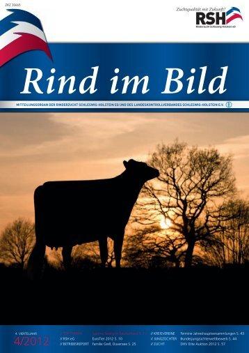 // Rind im Bild 4/2012 1 - Rinderzucht Schleswig-Holstein e.G.