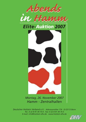 catalogue click here - Deutscher Holstein Verband e.V.
