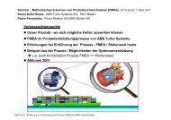 Prozess FMEA bei Turbo Systems - FMEA Information Centre