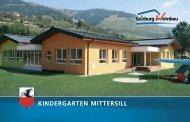 KINDERGARTEN MITTERSILL - Salzburg Wohnbau