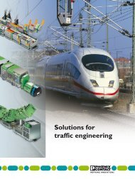 Solutions for traffic engineering - Phoenix Contact