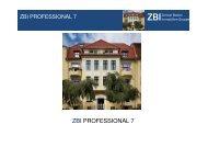 Präsentation ZBI 7 - Heiter Investment