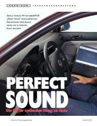 Die CD für optimalen Klang im Auto - dB-Junkies-Suhl