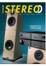 Sonderdruck aus STEREO 6/2004 - music line