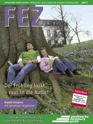 Der Frühling lockt – raus in die Natur! - Stadtwerke Flensburg GmbH