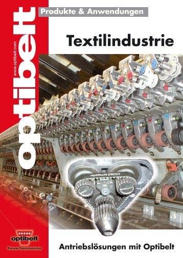 Textilindustrie - Optibelt