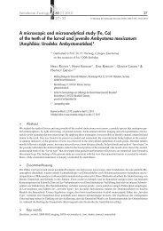 Contents_60_01_2010 _ final.indd - Biologie - Heinrich-Heine ...