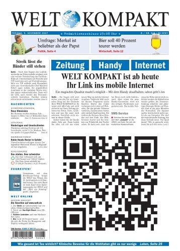Zeitung Handy Internet - All about Mobile Life - Kaywa