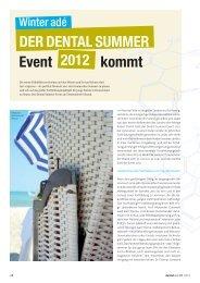 der Dental Summer Event 2012 - zahniportal.de