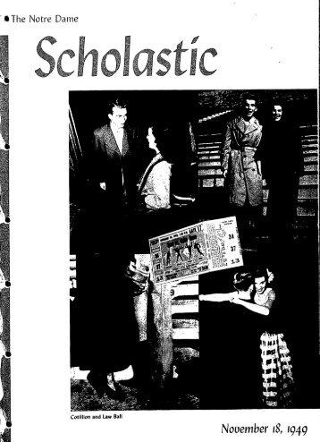 Notre Dame Scholastic, Vol. 91, No. 09 - Archives - University of ...