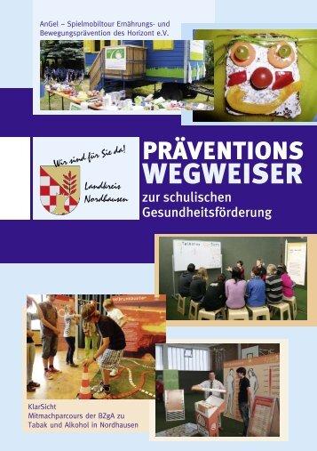 Gesundheitsprävention - Landratsamt Nordhausen