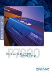 Datenblatt Printronix P7000 Serie - ESC Barcode GmbH