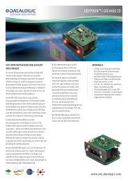 Datalogic Gryphon I GFE4400 2D - ESC Barcode GmbH