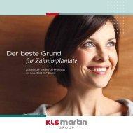 für Zahnimplantate - KLS Martin