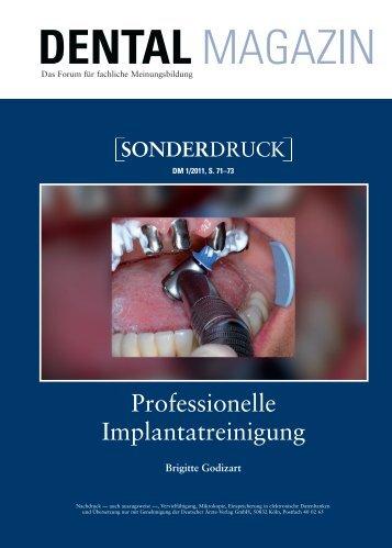 Prof. Implantatreinigung