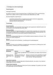 1. Grundlagen der oralen Implantologie Osseointegration ...