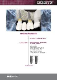 NanoTite-Implantate: Zahnimplantate der nächsten ... - BIOMET 3i