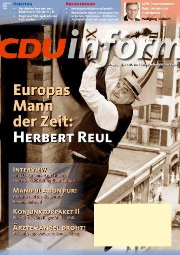 können Sie die Ausgabe als PDF-Datei - CDU Rheinisch-Bergischer ...