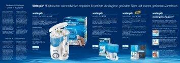 Waterpik® Mundduschen: zahnmedizinisch empfohlen für perfekte ...