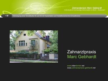 Zahnarztpraxis Marc Gebhardt