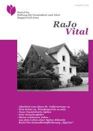 Vital RaJo - RaJoVita Stiftung