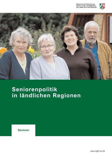 Seniorenpolitik in ländlichen Regionen - Städte-Netzwerk NRW ...