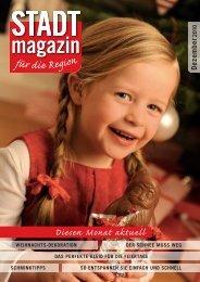 Ausgabe Dezember 2010 - STADTmagazin Rapperswil-Jona