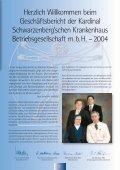 Geschäftsbericht 2004 - Kardinal Schwarzenberg'sches ... - Seite 3