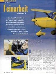 October 2003 - FK-Lightplanes