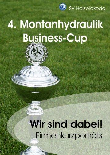 Wir sind dabei! - Montanhydraulik Business-Cup