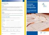 Curriculum Gerichts- und Privatgutachten - eazf