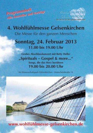 PDF, 2.2 MB - Wohlfühlmesse Gelsenkirchen