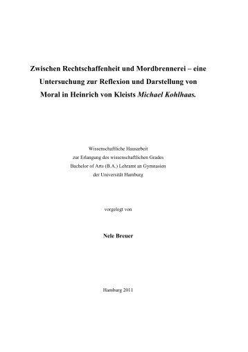 eine Untersuchung zur Reflexion und - SLM - Universität Hamburg