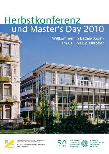 Herbstkonferenz - Akademie für Zahnärztliche Fortbildung Karlsruhe