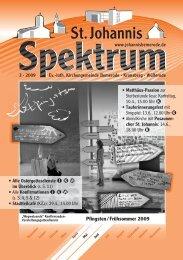3 (Heft Apr. - Jun. 2009) - St. Johannis Bemerode