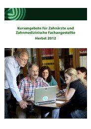 zur Broschüre - Akademie für Zahnärztliche Fortbildung Karlsruhe
