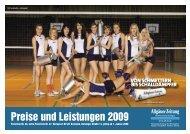 Preise und Leistungen 2009 - All-in.de