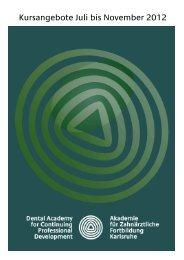 Karlsruher Kurse - Akademie für Zahnärztliche Fortbildung Karlsruhe