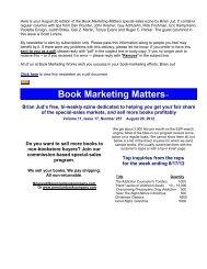 Volume 11, Issue 17 August 20 2012.pdf - Book Marketing Works