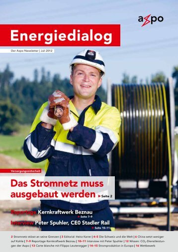 Energiedialog Juli 2012 - Axpo