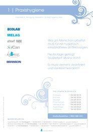 1 | Praxishygiene - Simon Keller AG