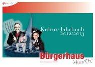 Kultur-Jahrbuch 2012/2013 - Hürth