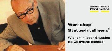 Workshop Status-Intelligenz® - seminar consult Prohaska