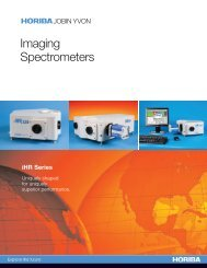 Imaging Spectrometer - Horiba