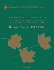 Version PDF - Bureau du Commissaire des tribunaux de révision ...