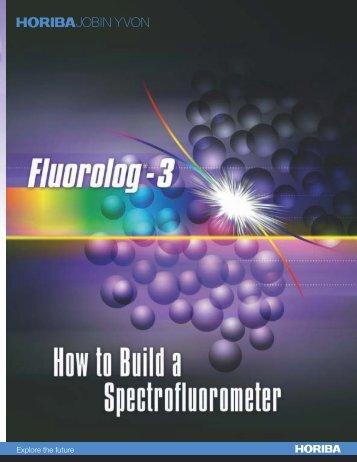 FluoroLog 3 Spectrofluorometer - Horiba