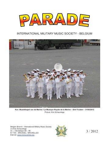 international military music society - belgium - Bloggen.be