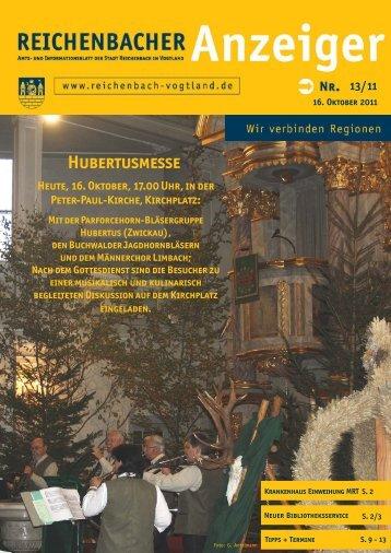 Hubertusmesse - Reichenbach