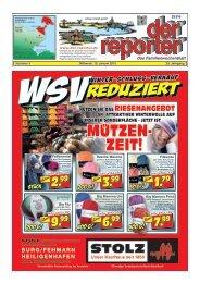der reporter - Das Familienwochenblatt für Fehmarn 2013 KW 03