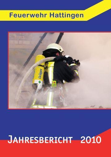 Jahresbericht 2010 - Feuerwehr Hattingen